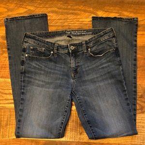 GAP SEXY BOOTCUT FIT medium wash jeans
